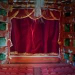 Vista sul palcoscenico dal palchetto reale