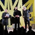 Oreste Sabadin, Gianluca Cerioni e Livio Vianello